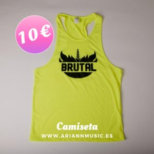 camiseta fluor yellow